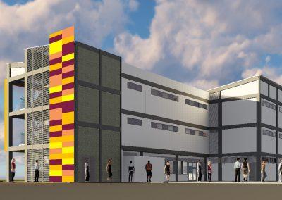Diseños hidráulicos, sanitarios, gases industriales y otros fluidos y los diseños de ventilación mecánica y aire acondicionado para del bloque 7 del SENA centro industrial y desarrollo tecnológico de Barrancabermeja