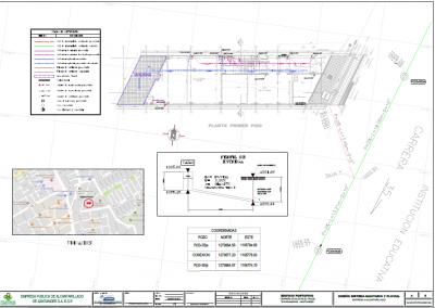 Elaboración de diseños hidráulicos y sanitarios para el proyecto denominado EDIFICIO MULTIFAMILIAR PORTOFINO ubicado en la carrera 35 No. 33-48 Barrio el Prado de Bucaramanga