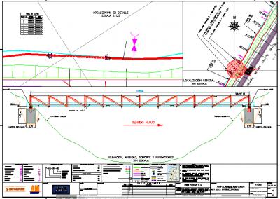 Diseño de los planos que contengan la reubicación de la red de acueducto de aproximadamente 30km en donde se tendra en cuenta el trazado existente con la proyeccion futura de la vía