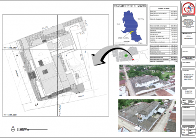 Plano hospital San Juan de Dios (Arq. Fabian Enrique González Camargo)
