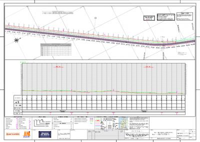 Plano red de acueducto San Cayetano (Sacyr Construccion Colombia sas)