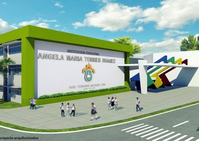 Render Instituto Técnico Angela Maria Torres Suarez (Construmarc LTDA)